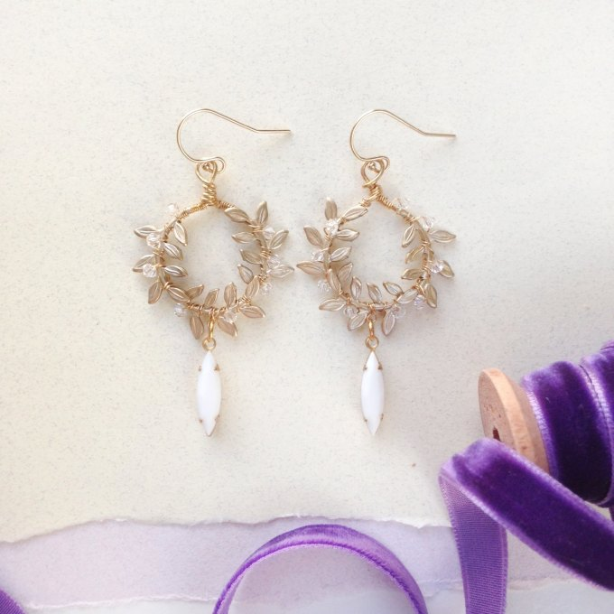 laurel-wreath-earrings-up-close-photo