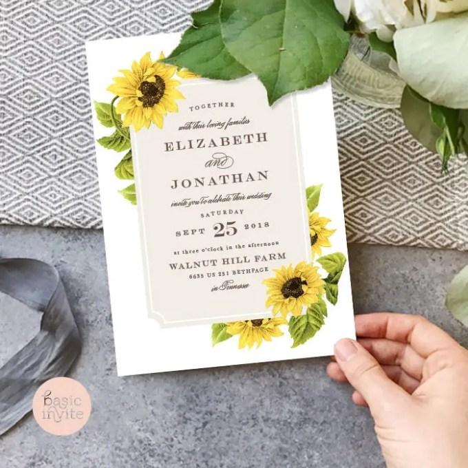 50+ Best Wedding Invitations // via http://bit.ly/2yB6Ful