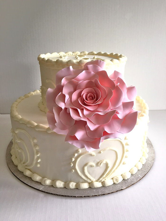 Clay flower Cake Toppers for Weddings by Parsi