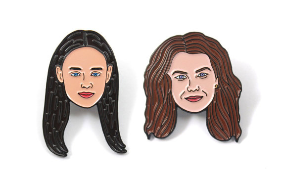 gilmore-girls-pins-set-by-heartificial