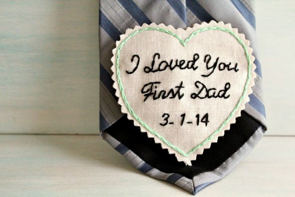 This Father of the Bride Tie Patch is the Best