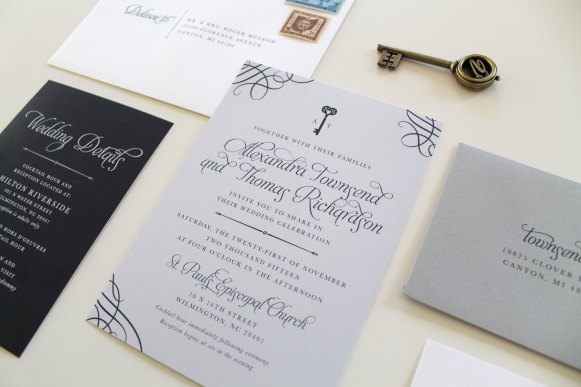 lock-and-key-wedding-invitation-by-tiedandtwo