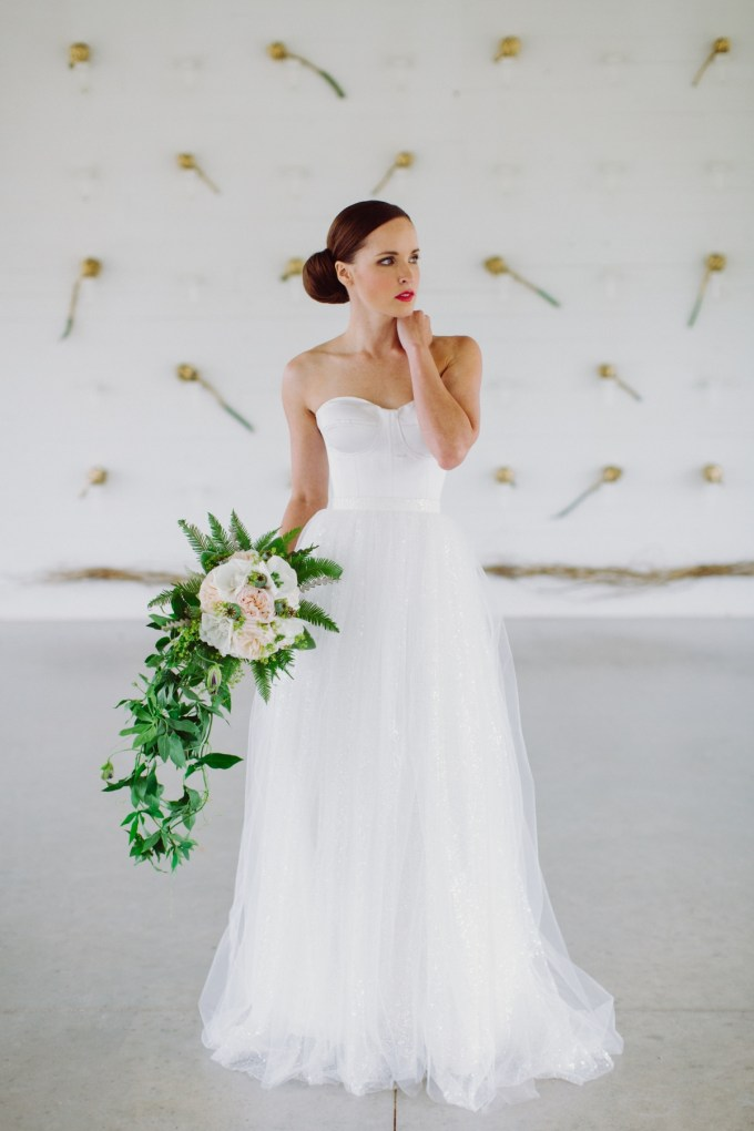 Ballet inspired wedding dresses by pas de deux bridal