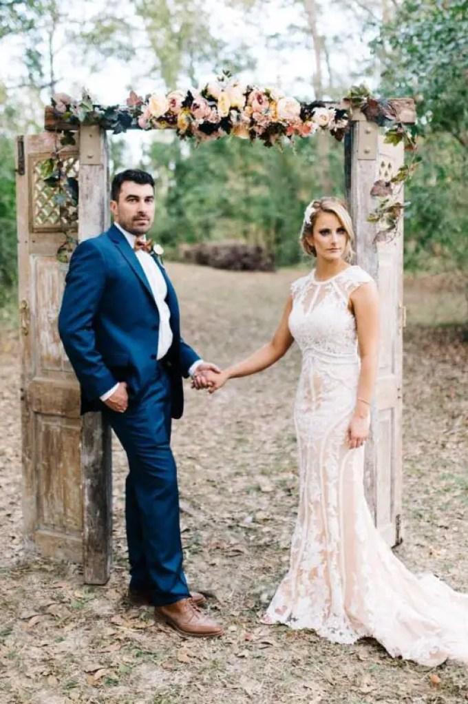 Wedding Arch Flower Swag