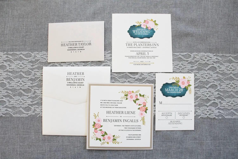 size of invitations