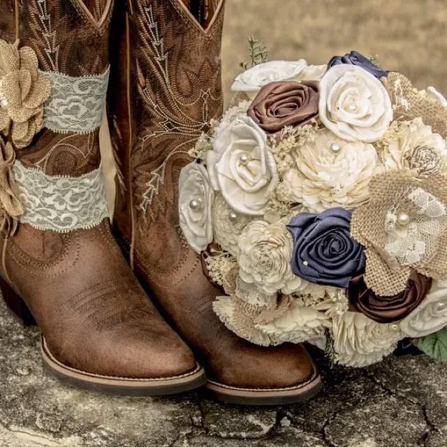 Alternative bouquets for weddings