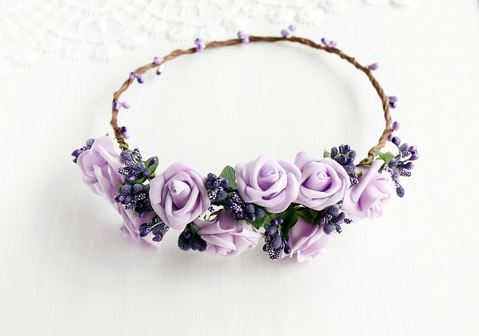 where to buy flower hair wreaths for weddings | http://emmalinebride.com/bride/where-to-buy-flower-hair-wreaths-for-weddings