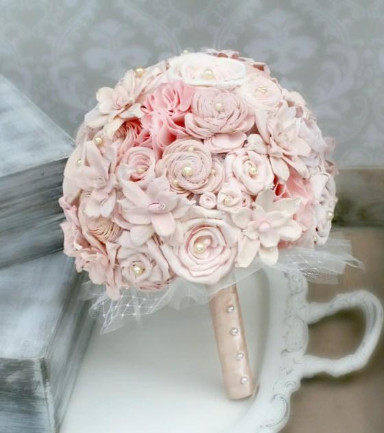 blush bouquet top