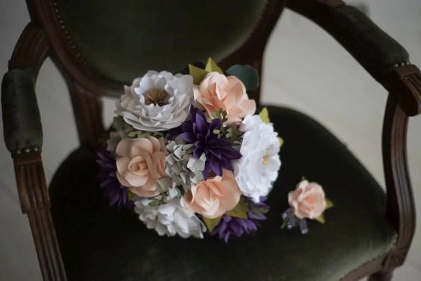 paper bouquet flowers