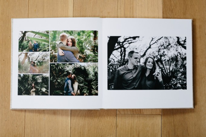 what to use engagement photos for