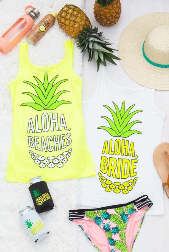 Pineapple Bachelorette Party