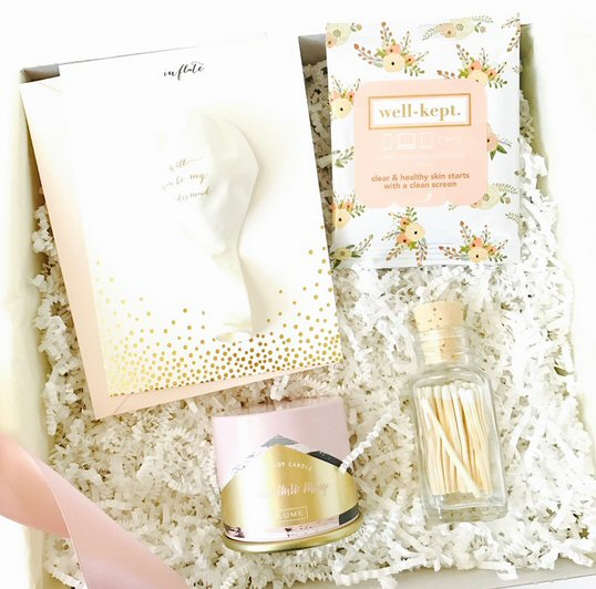 be my bridesmaid gift box by just simply l