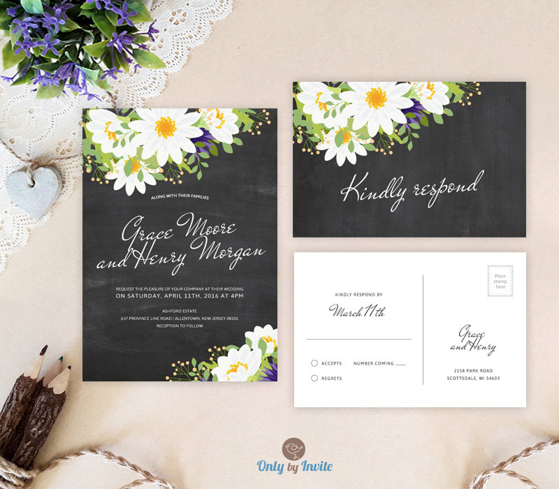 Cheap Weding Invitations With Rsvp 05 - Cheap Weding Invitations With Rsvp