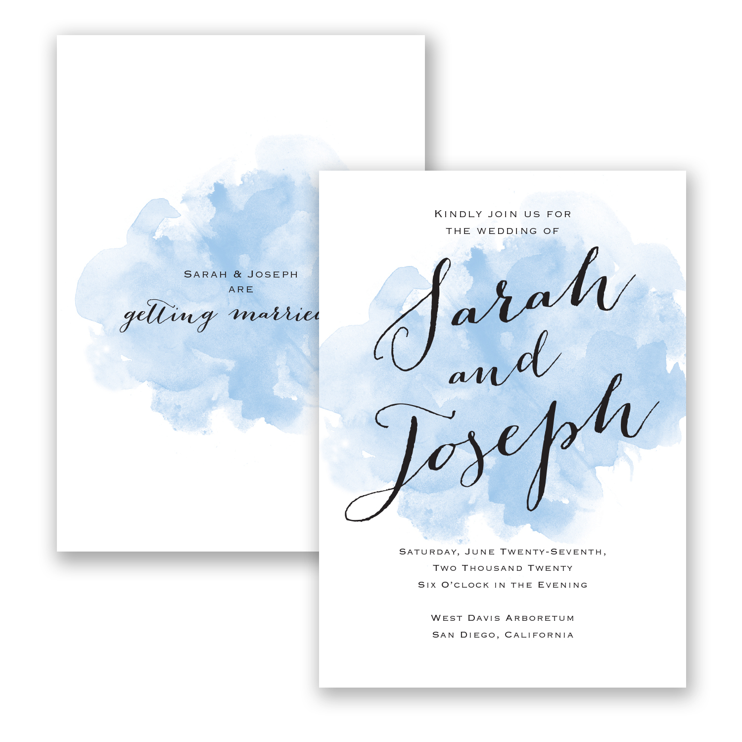 Amazing ... Watercolor Wedding Invitations   Where To Buy Affordable Wedding  Invitations ...