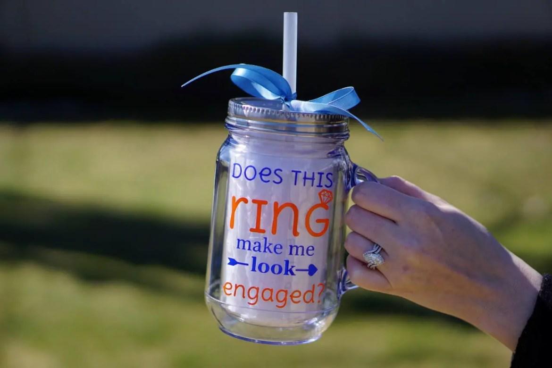 mason jar mug bridesmaids / bride