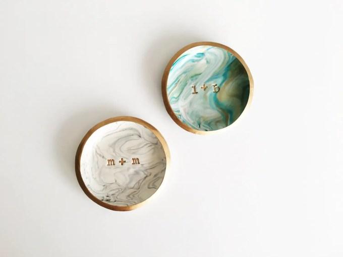 marble ring dish