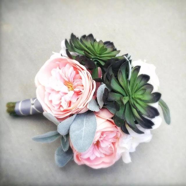 One perfect way to do succulents bouquet by fleurdenord hellip