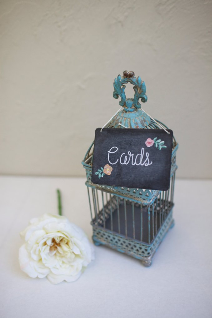 mini chalkboard signs for weddings