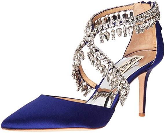 8fd23c25e14 24 Most Beautiful Blue Shoes for the Bride - BridalPulse