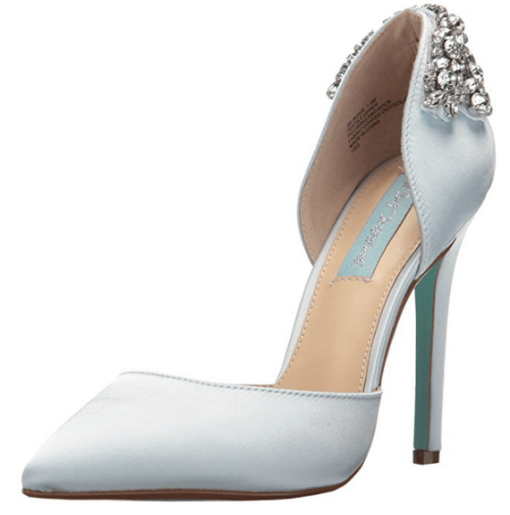 24 best something blue wedding shoes low heel high heel flats eb by betsey johnson junglespirit Image collections