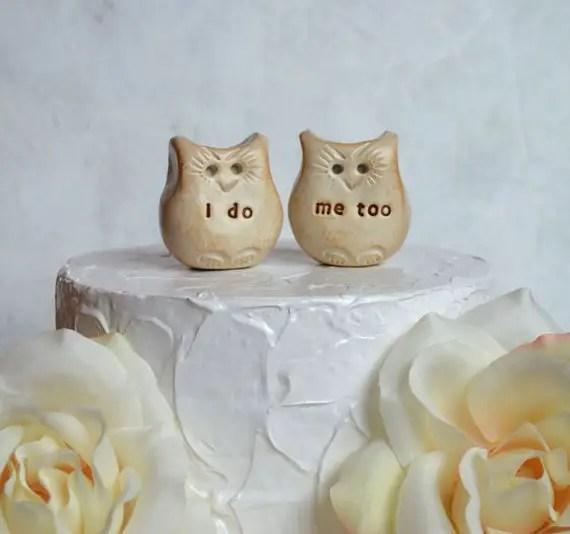 best cake toppers for weddings via EmmalineBride.com