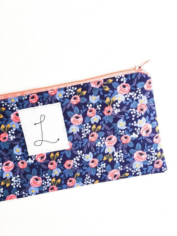 cute bridesmaid cosmetic bags