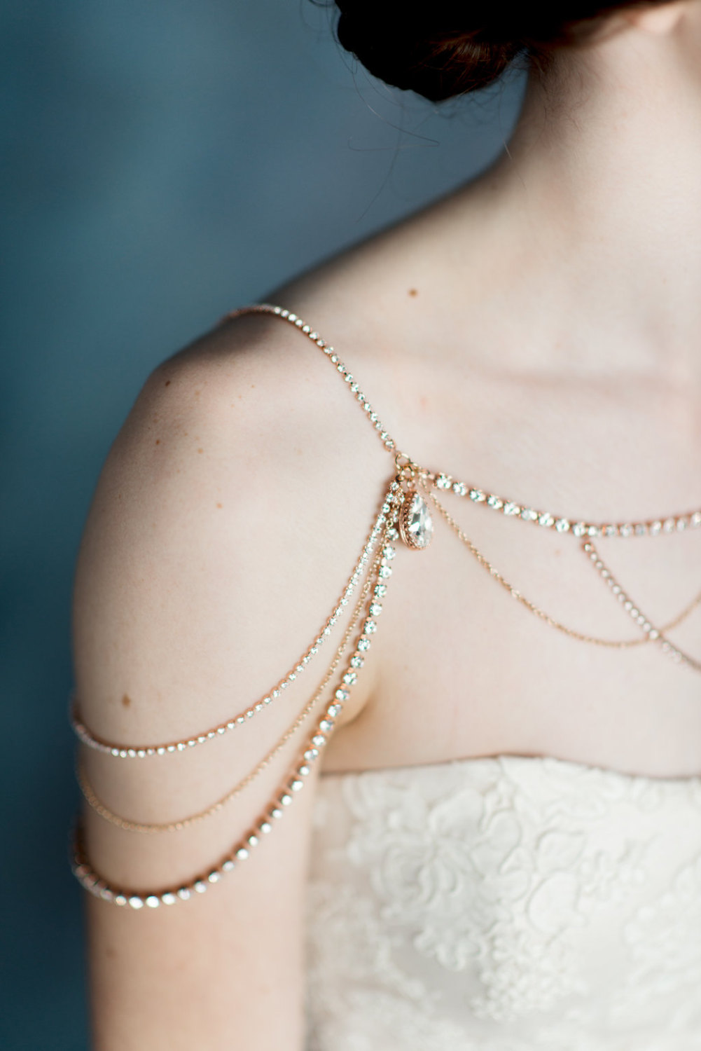 Shoulder Jewelry Bridal Collection by Blair Nadeau Millinery