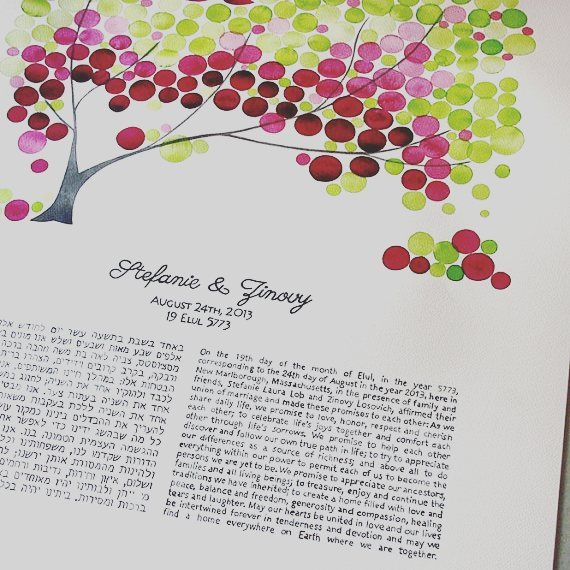 CEREMONY  We have the most beautiful modern ketubah designshellip