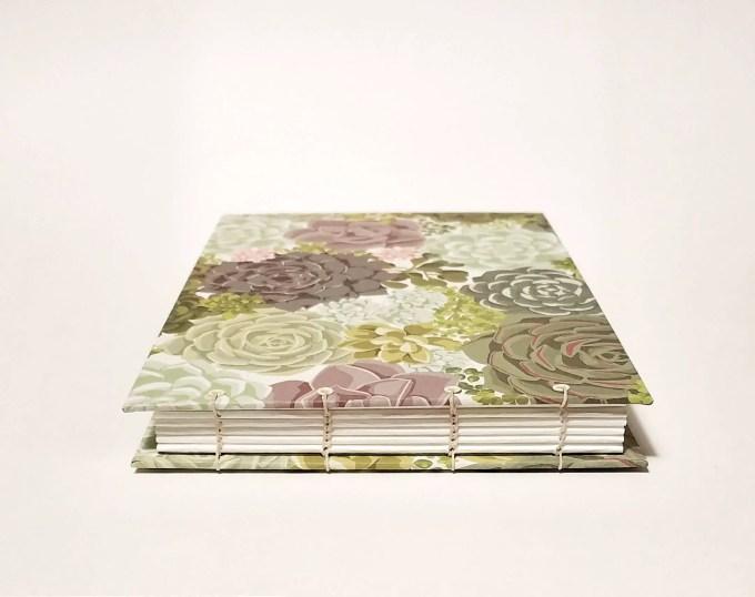 succulent guest book