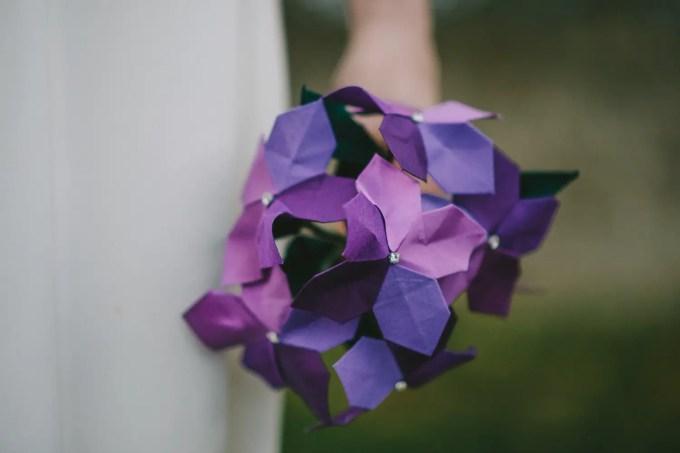 Origami wedding flowers thatll amaze you emmaline bride origami wedding flowers by bymi photo by paul santos mightylinksfo