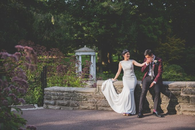 A Morris Arboretum Wedding that You'll Never Forget! (Philadelphia Garden Wedding)- http://emmalinebride.com/real-weddings/a-morris-arboretum-wedding-that-youll-never-forget| BG Productions Photography & Videography