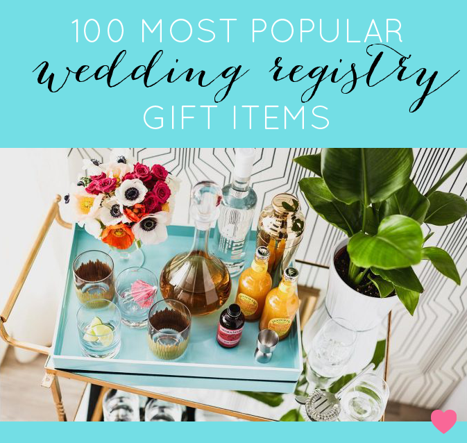 Target Wedding Gift Registry List: The Top 100 Wedding Registry Products On Amazon Right Now