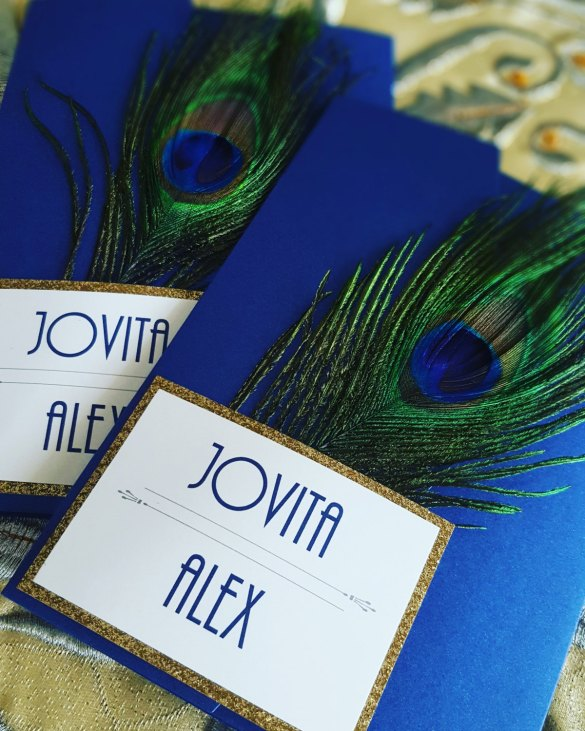 Great Gatsby Wedding Invitation