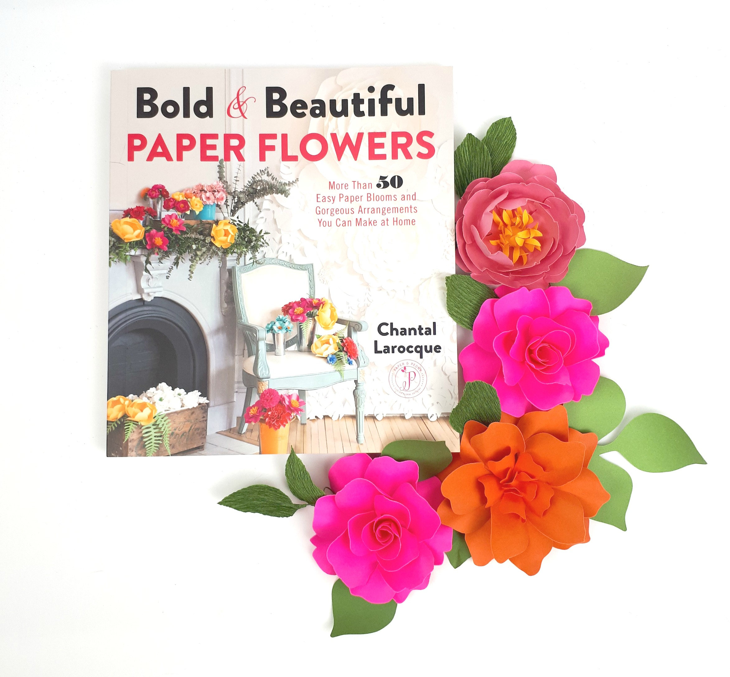 How to make paper flowers easy paper flower tutorials book izmirmasajfo
