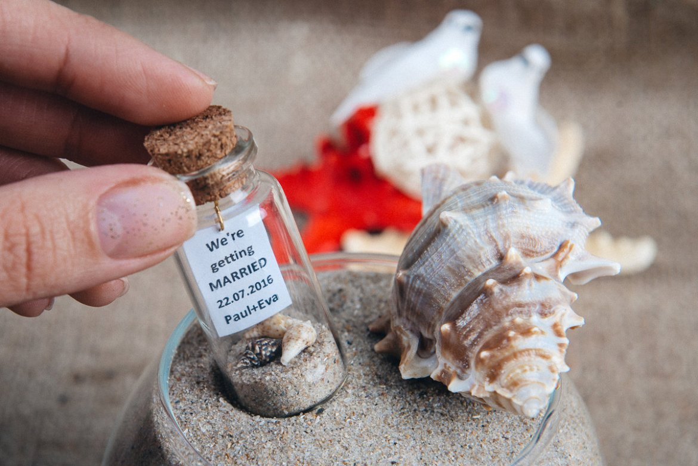 Message In A Bottle Save The Date   Emmaline Bride Wedding Blog