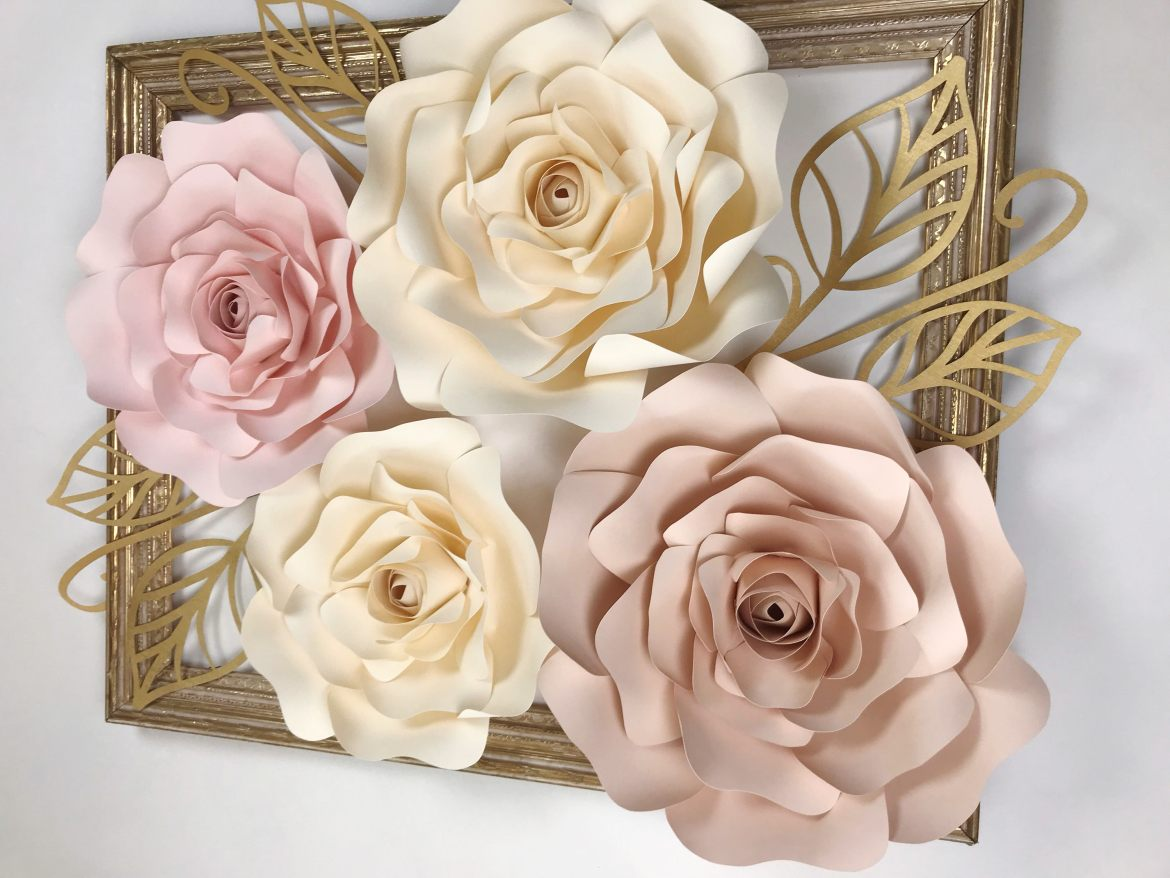 big paper flowers by paperflora.com
