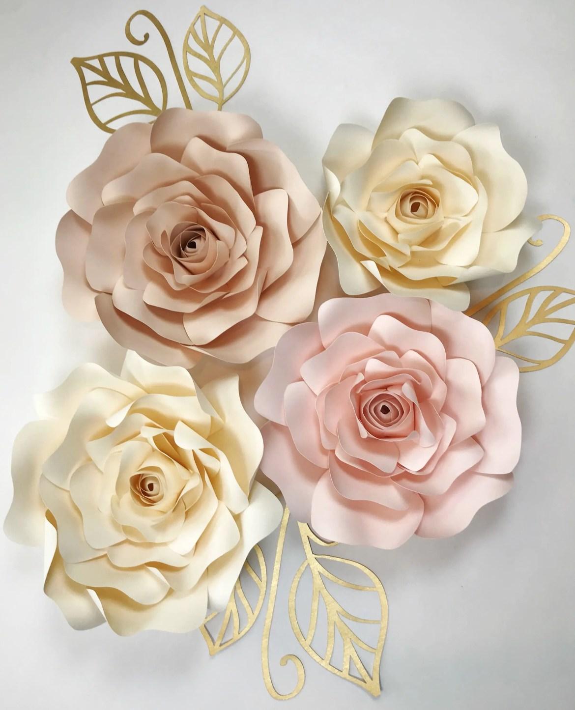 big paper flowers by paperflora.com
