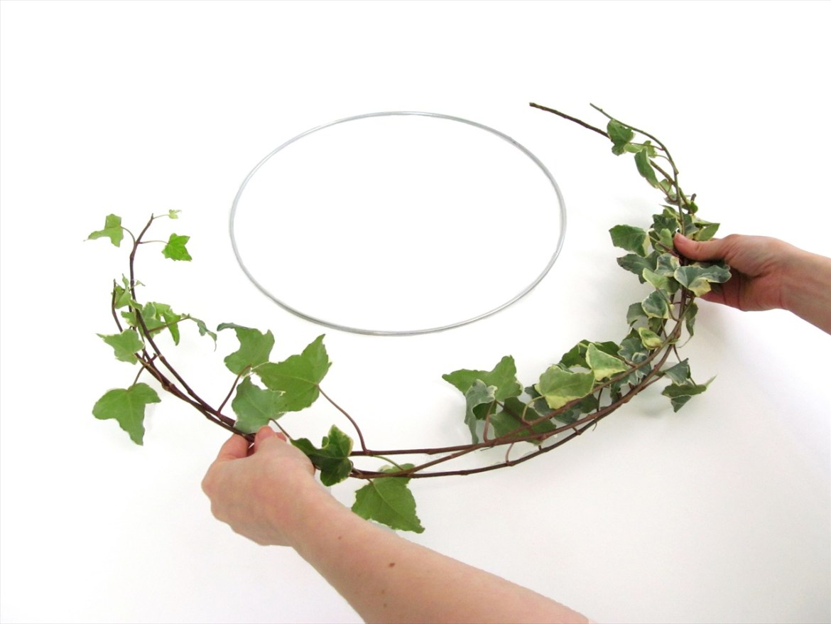 diy floral hoop tutorial