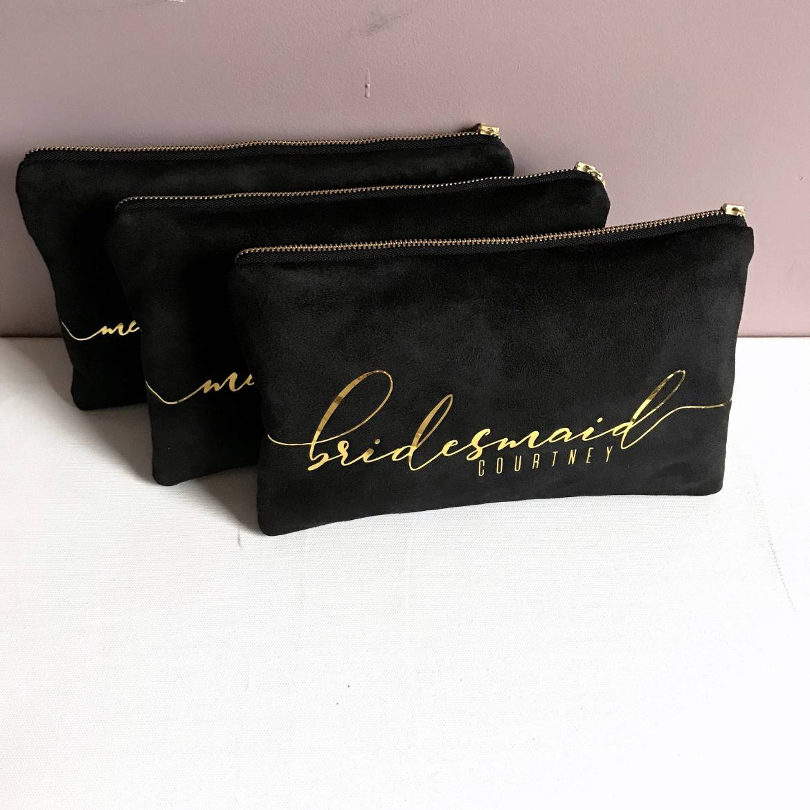 free bridesmaid clutches