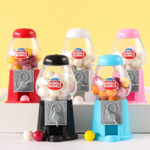 bubble gum machine wedding favors