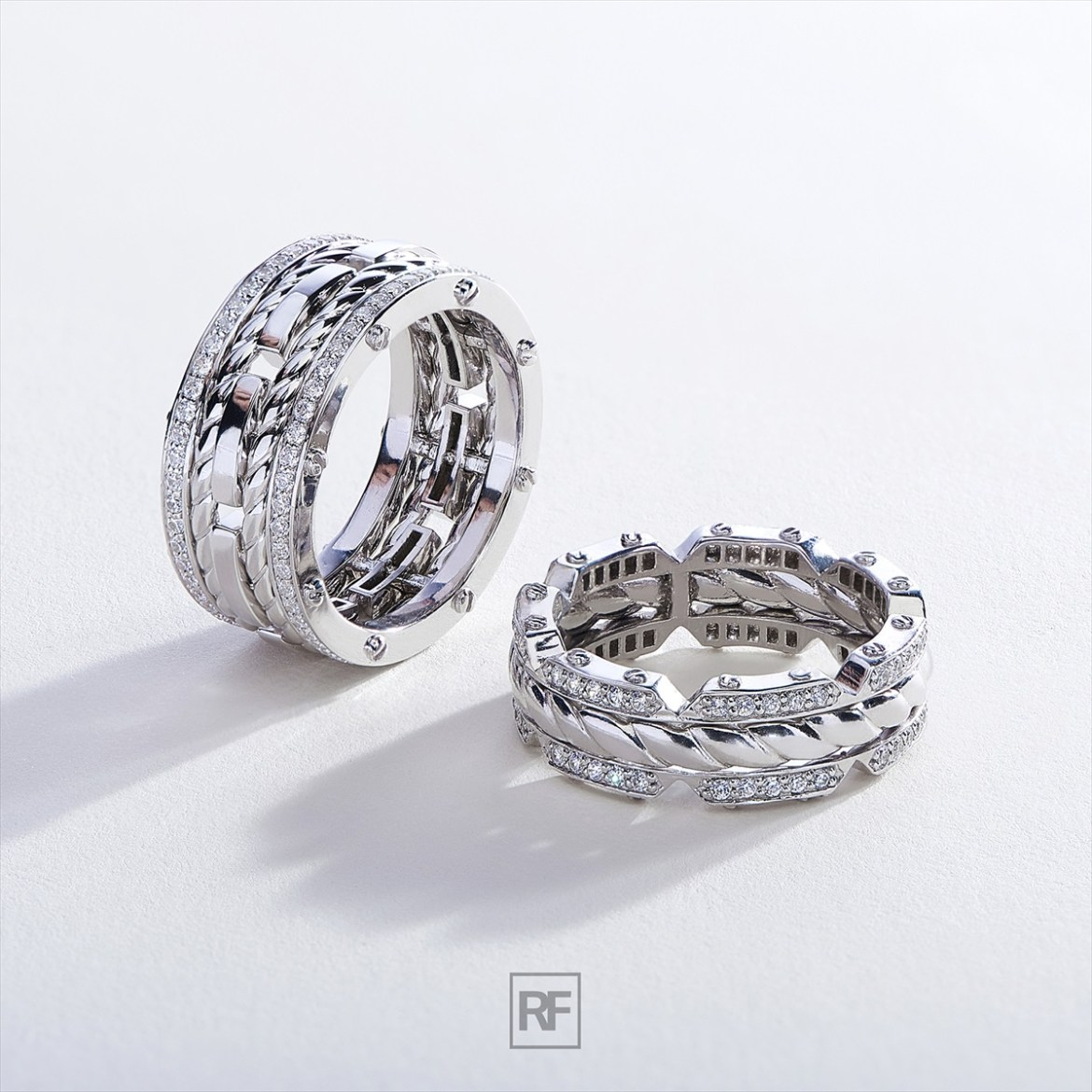 strikingly unique mens wedding bands emmaline bride weddings. Black Bedroom Furniture Sets. Home Design Ideas
