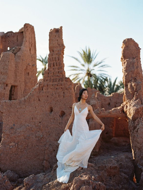 Boho Bridal Gowns from Wilderly Bride