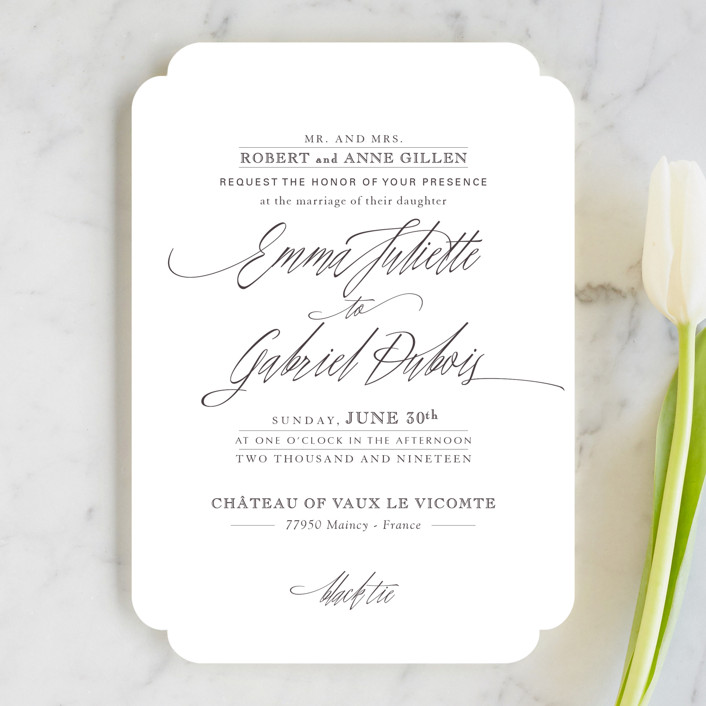 via How to Get the Most Beautiful Calligraphy Envelopes | http://bit.ly/2L93BbT