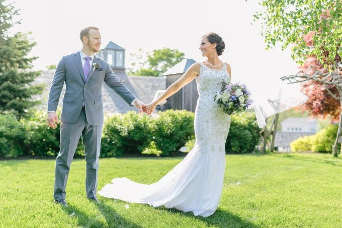 mermaid fishtail wedding dress