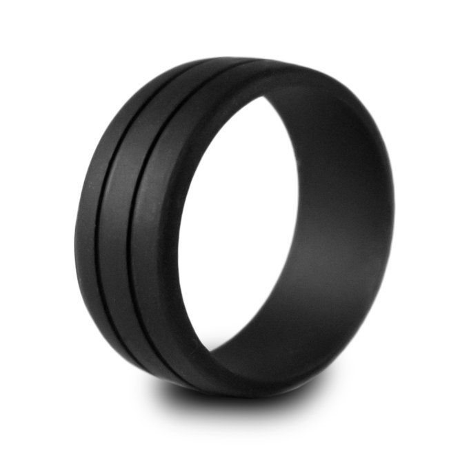 silicone wedding rings via https://amzn.to/2rIFJna