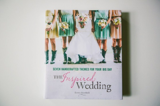 the inspired wedding book by emma arendoski of emmaline bride