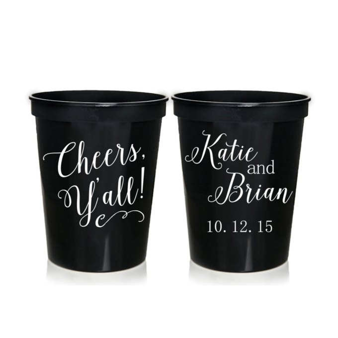 custom printed cups and stadium cups