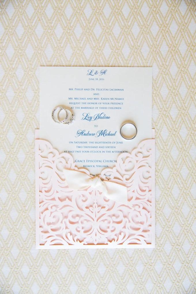 laser cut wedding invitations