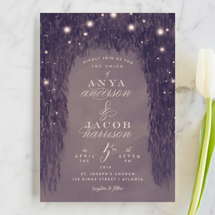 9 Best Places for Evening Wedding Invitations | Emmaline Bride®