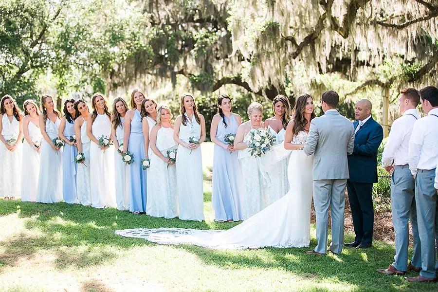 airlie gardens wedding - photo by eric boneske